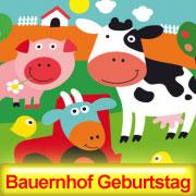 Bauernhof Kindergeburtstag Dekoration Partysternchen Partyartikel