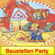Handwerker Party Deko für Bauparty und Richtfest Deko
