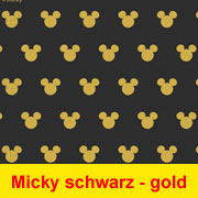 Micky Maus Party Gold