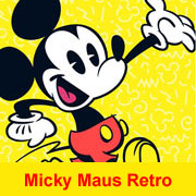 Micky super cool Partydeko