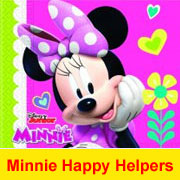 Minnie Maus Happy Helpers Geburtstagsparty Deko