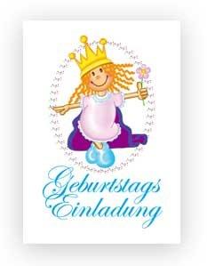 Wenn Du Die Gäste Mit Einer Tollen Prinzessinnen Einladungskarte Zum  Kindergeburtstag Einlädst Sind Sie Schon Tage Vorher Auf Eine Tolle  Prinzessinnenparty ...