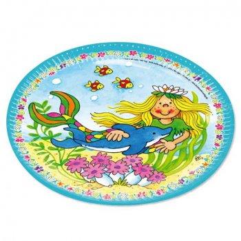 Pappteller f r kindergeburtstag partysternchen for Kindergeburtstag pappteller