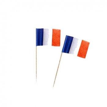 Deko Picker Frankreich Blau Weiss Rot Partysternchen Partyartikel