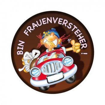 Button: Frauenversteher