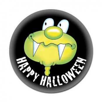 Happy Halloween Button