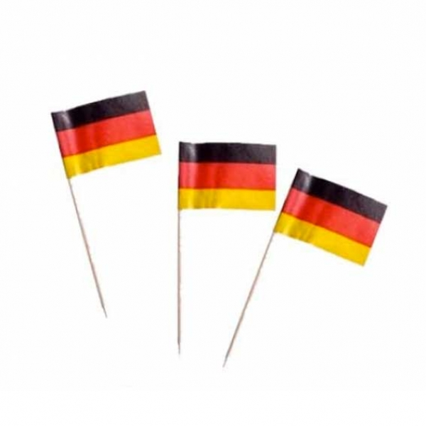 Deutschland f hnchen deko picker partysternchen for Deko deutschland