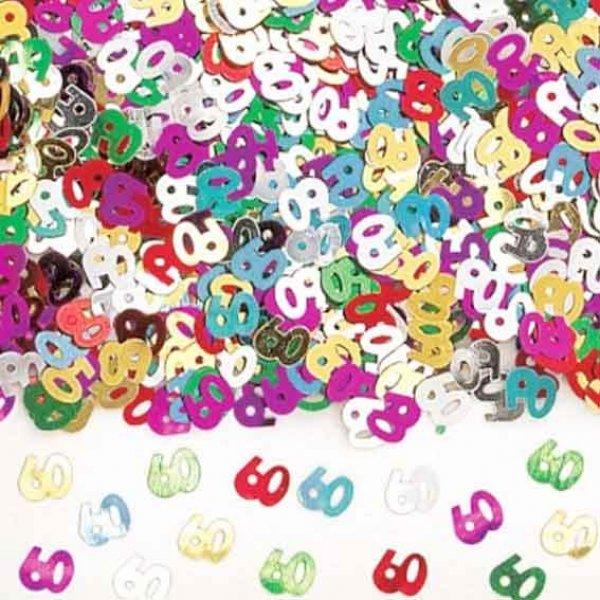 Tischdeko Geburtstag 60 Deko Konfetti Partysternchen Partyartikel