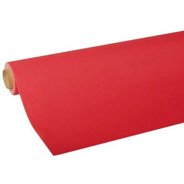 tischdecke rot tissue partysternchen partyartikel versand. Black Bedroom Furniture Sets. Home Design Ideas