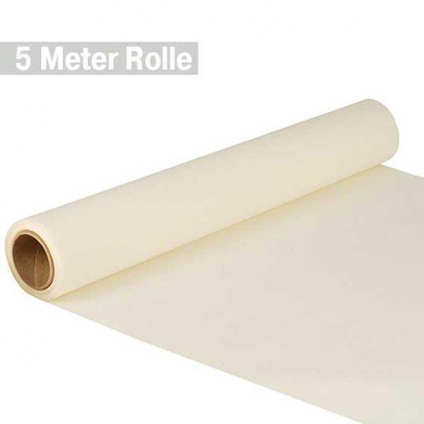 """/""""ROYAL Collektion/"""" Papiertischdecke champagnerfarben 5 Meter Rolle Tissue"""
