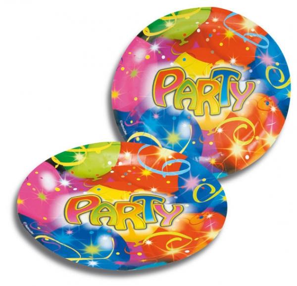 party teller ballon deko party partysternchen
