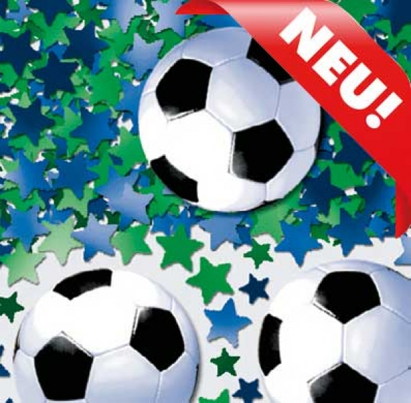 Tischdeko Fussball Deko Konfetti Fur Den Fussball Geburtstag